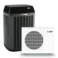High Efficiency Heat Pumps and Ductless Mini Splits
